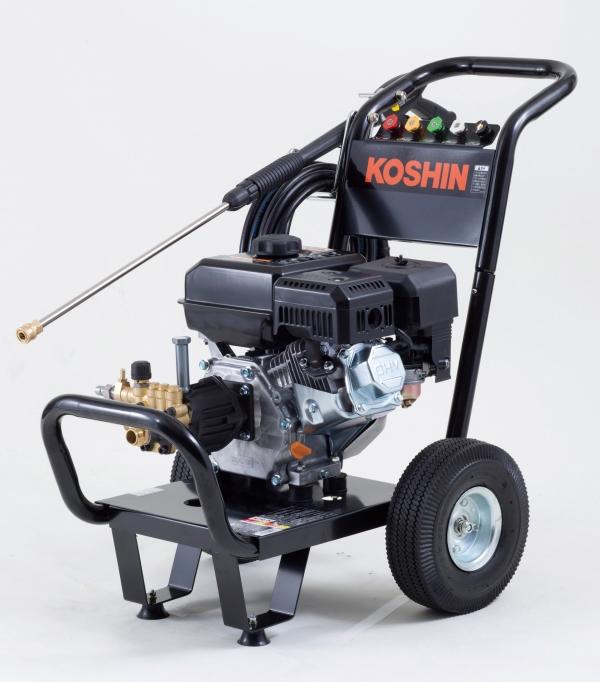 【法人様送料無料】【個人様不可】エンジン式高圧洗浄機ディスクフィルター付 w-67 【返品不可・代引不可】