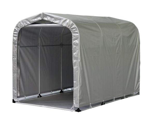 【法人様送料無料】小型パイプ倉庫「マルチスペース」 ※個人宅配送不可・お客様組立て(ベース付) W-130-1