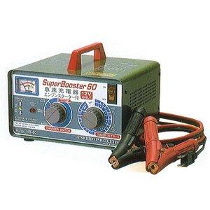 【送料無料】セルスタータ付充電器12V60A W-29  【返品不可・代引不可】