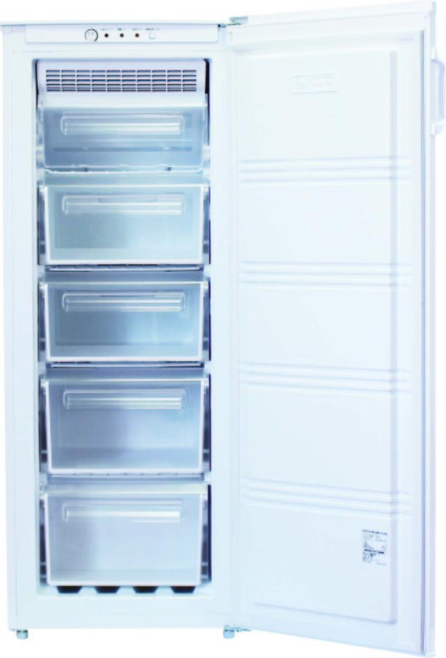 【法人様送料無料】【個人宅不可】専用冷凍庫 151L W-151  【返品不可・代引不可】