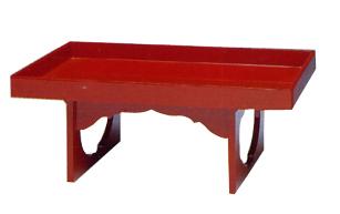 供物膳 朱塗 巾1.5尺(45cm)