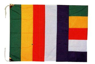 仏旗 テトロン製 小 95cm×75cm