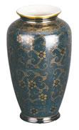 颯 九谷焼 花瓶