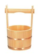 水行桶 サワラ木地