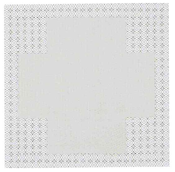 半畳拝敷 紋縁 90×900cm 4点付 1枚仕立