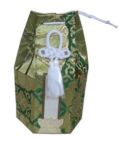 分骨壺カメオ2.3寸用 金襴袋