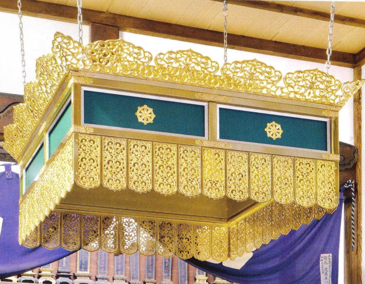 透し彫 護摩壇用天蓋