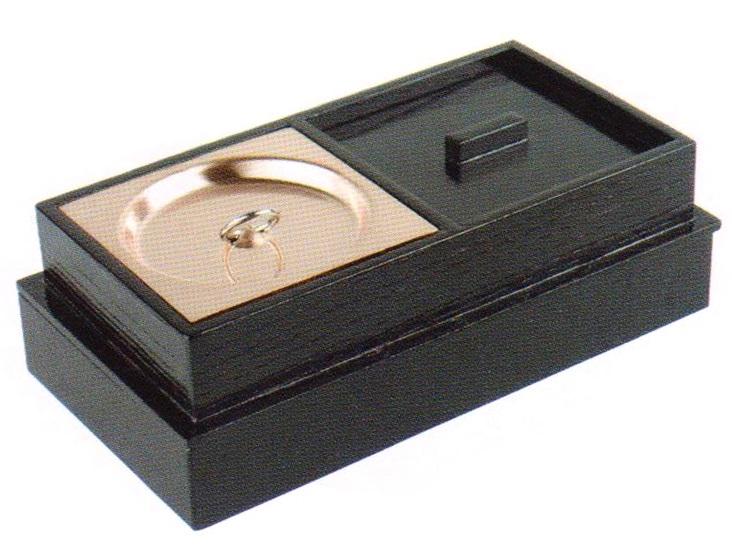 携帯用箱型香炉