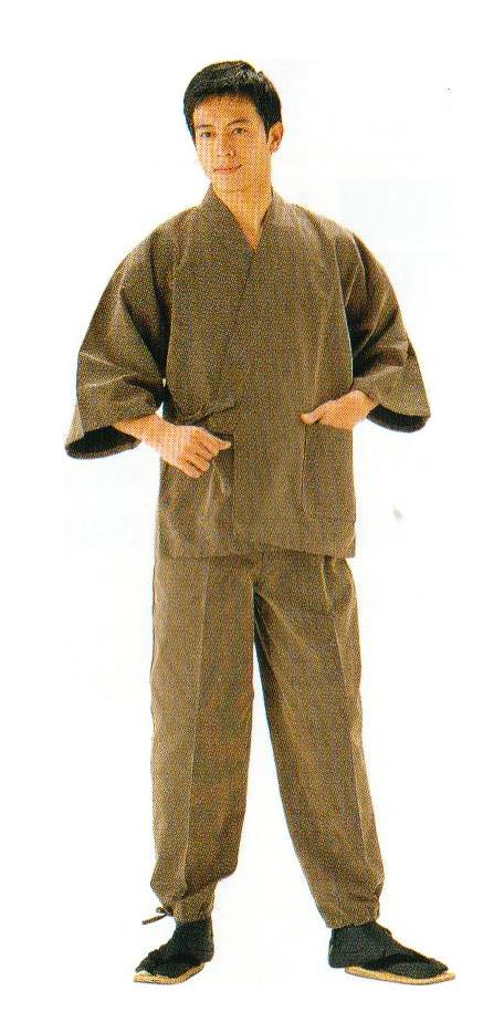 小柄ドビー作務衣
