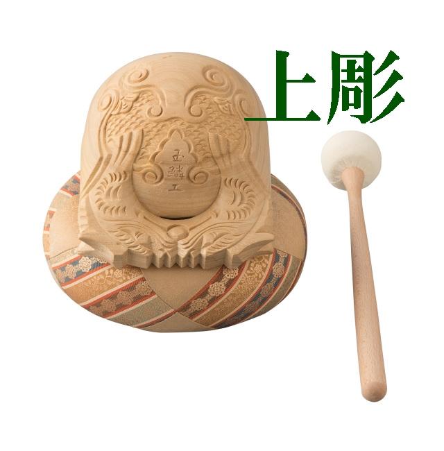 木魚 上彫セット
