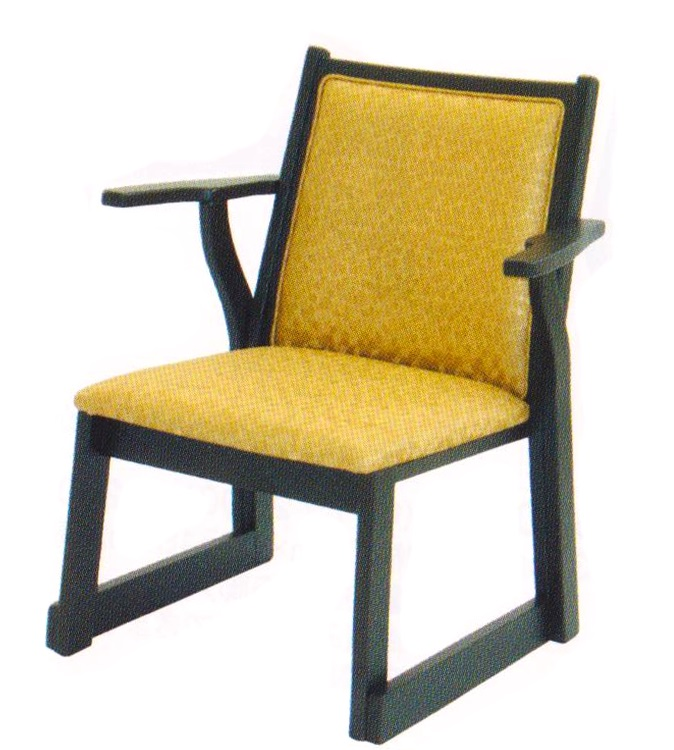 ルーツ 両肘 椅子