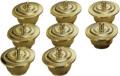 護摩器 八器碗・蓋 大型 真鍮製ミガキ 8ケ1組