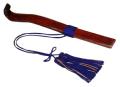 紫壇製笏(人絹房付)1尺(30cm)