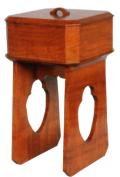 欅製献菓子器 小 高さ 8寸(24cm)