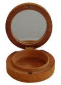 コンパクト式香合(カガミ付) 直径2.5寸(7.5cm)