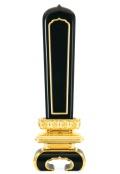 坊塔型位牌 黒塗面金 札丈4寸(総丈19cm)~1.3尺(総丈60cm)