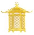 木製春日型吊灯籠