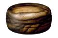 黒柿香合 直径2.4寸(7.5cm)