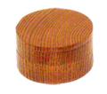 二段式香合 ネジ切式 直径2.5寸(7.5cm)