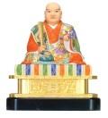 日蓮聖人像 極彩色
