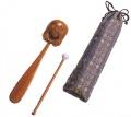 正座 木魚 携帯