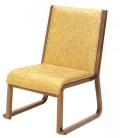 背付本堂椅子