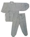 晴明木綿 作務衣