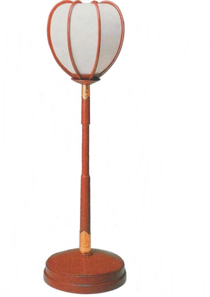 朱塗 丸型 ボンボリ