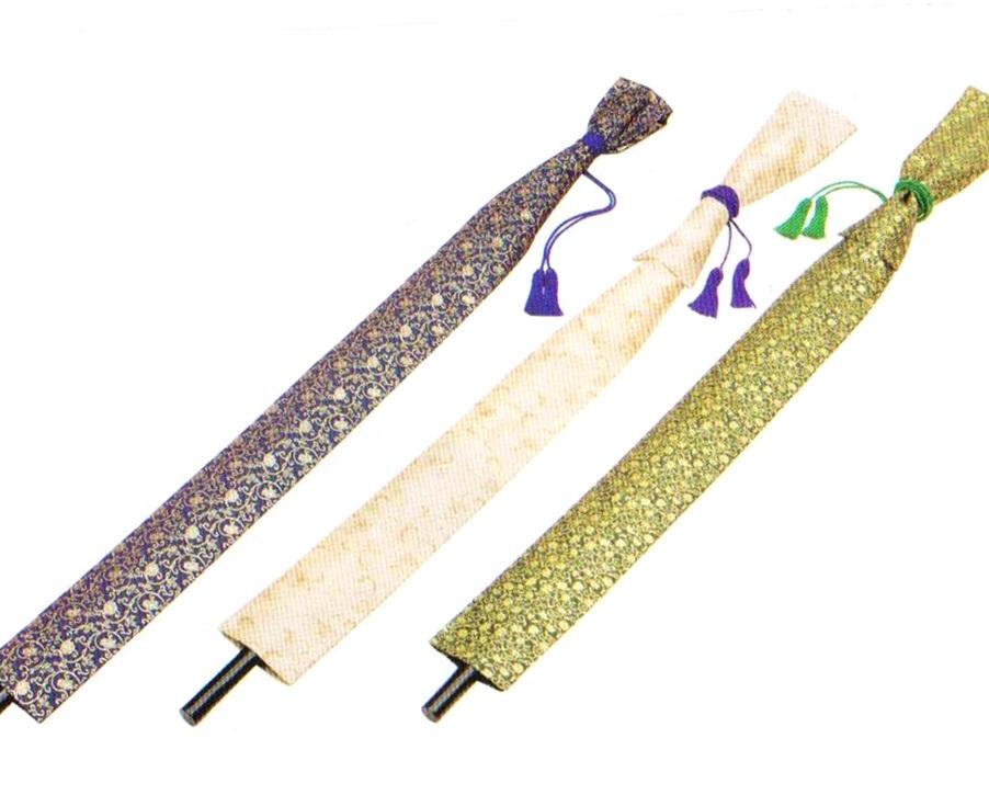 柱杖金襴袋