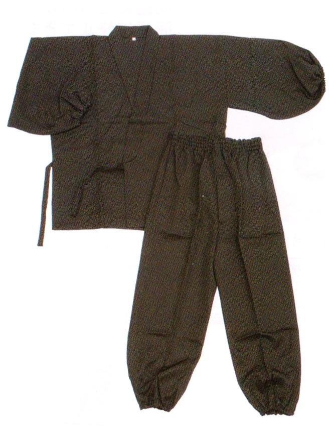 テトロンカシミヤ作務衣