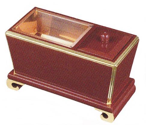 ワラビ足香炉 角香炉