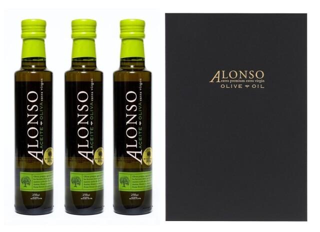チリ産 ALONSO(アロンソ)エキストラヴァージンオリーブオイル(Blend) 3本BOXセット