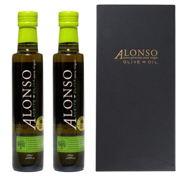 チリ産 ALONSO(アロンソ)エキストラヴァージンオリーブオイル(Blend) 2本BOXセット