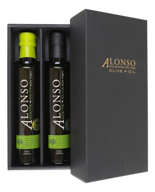 チリ産 ALONSO(アロンソ)エキストラヴァージンオリーブオイル(Blend&Frantoio) 2本BOXセット