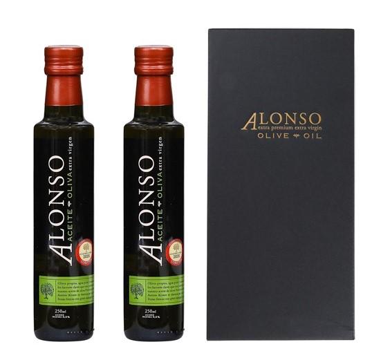 チリ産 ALONSO(アロンソ)エキストラヴァージンオリーブオイル(Coratina) 2本BOXセット