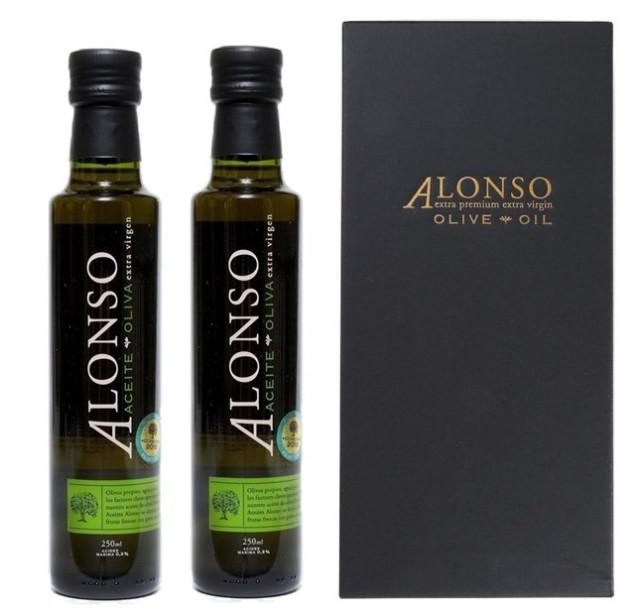 チリ産 ALONSO(アロンソ)エキストラヴァージンオリーブオイル(Frantoio) 2本BOXセット