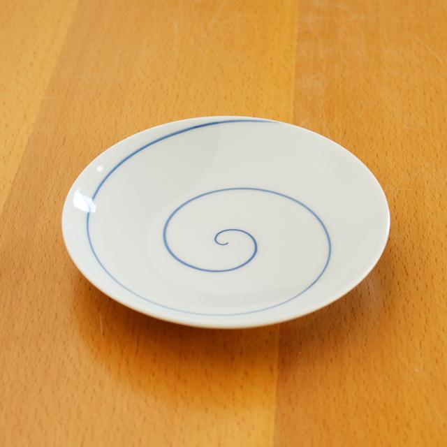 【和食器通販ショップ 藍土な休日】有田焼 田森陶園 丸皿 染付 取皿