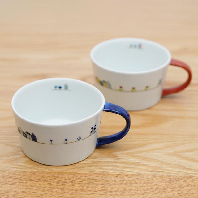 和食器 有田焼 通販 藍土な休日 藍土 一峰窯 いっぽう オリジナル スープカップ ボウル オランダ かわいい