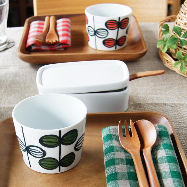 【和食器通販ショップ藍土な休日】 スタッフまっきーのテーブルコーディネート 期間限定販売「葉紋様カップ」