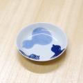 【和食器通販ショップ 藍土な休日】有田焼 そうた窯 染付瓢絵 3.5寸多用皿