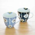 和食器 有田焼 通販 藍土な休日 藍土 そうた窯 惣太窯 マグカップ コーヒー カップ 花 染付 かわいい