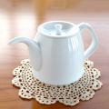 【和食器通販ショップ 藍土な休日】波佐見焼 陶房青 吉村陶苑 ポット 茶器 白磁 白い