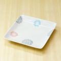 【和食器通販ショップ 藍土な休日】波佐見焼 和山窯 プレート 角皿 北欧 かわいい レース