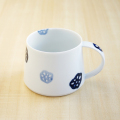 【和食器通販ショップ 藍土な休日】波佐見焼 和山窯 藍土 オリジナル マグカップ 北欧 かわいい れんこん