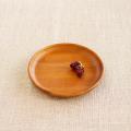 【和食器通販ショップ藍土な休日】木製プレート ラウンドディッシュ(15cm)