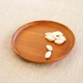 【和食器通販ショップ藍土な休日】木製プレート ラウンドディッシュ(21cm)