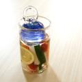 ガラスの漬物容器