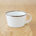 【和食器通販 藍土な休日】 藍土 オリジナル スープカップ オーバルプレート 楕円皿 皓洋窯 有田 皿