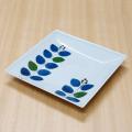 【和食器通販ショップ藍土な休日】 波佐見焼 康創窯 角皿 プレート テーブルコーディネート