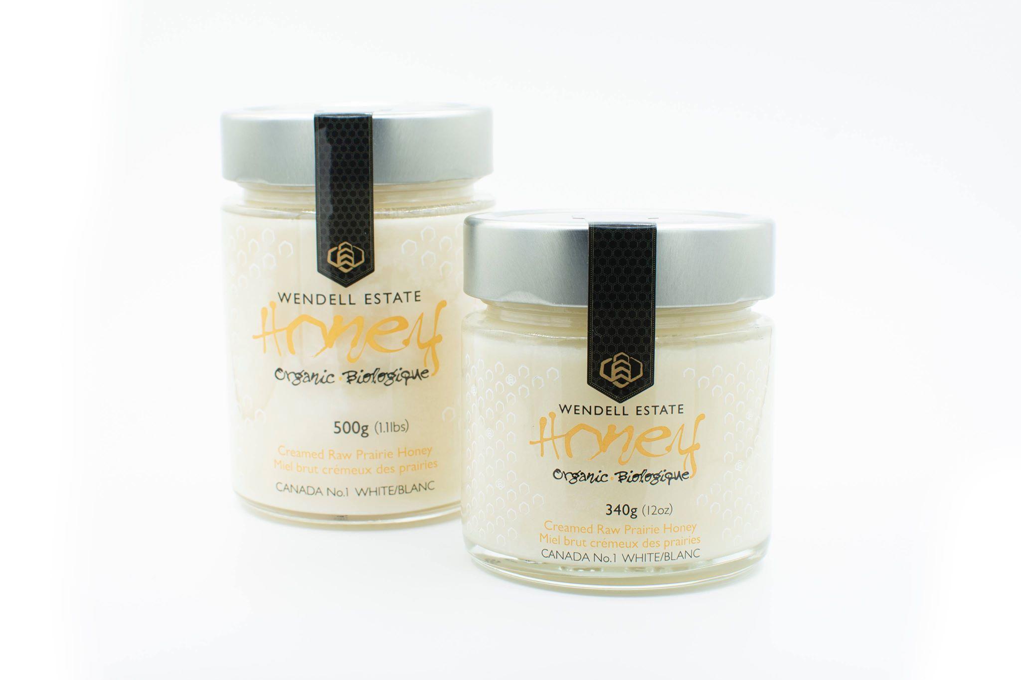 Organic Wendell  Estate Organic  Honey